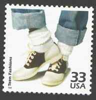 US. 3187 b. 33c. Teen Fashions. Celebrate The Century. MNH. 1999