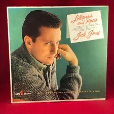 JACK JONES Lollipops And Roses  1961 USA Vinyl LP  EXCELLENT CONDITION