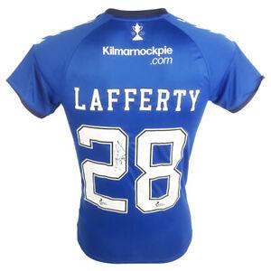 Signed Kyle Lafferty Shirt - Kilmarnock Jersey - 2021 +COA