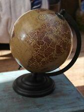 Globo De 20cm de diámetro estilo vintage en soporte