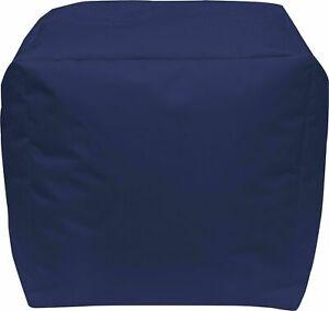 Sitzsack Würfel Sitzhocker Sitzkissen Sitzwürfel  In- Outdoor Beanbag Sitzsäcke
