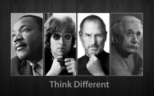 """012 Steve Jobs - RIP Think Different Great Inventor 38""""x24"""" Poster"""