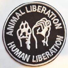 ANIMAL LIBERATION PATCH  SCHWARZ (MBP 204)