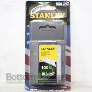 Stanley 11-921A 100/Pack All Purpose Heavy Duty Utility Blades