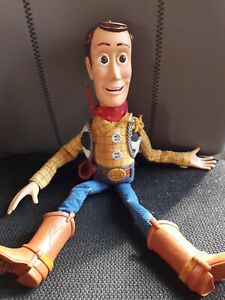 Original 1995 Toy Story Woody Talking Figure Hat missing First Edition