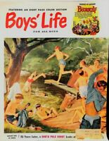 """Boys' Life Magazine For All Boys """"Collectors Beowulf W/ Comics"""" August 1953"""