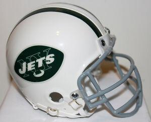 Joe Namath New York Jets Riddell Custom Mini Helmet w/ Metal Face Mask