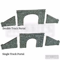 Javis N Gauge Tunnel Portal Double Single Track Side Walls Resin Model Kit N