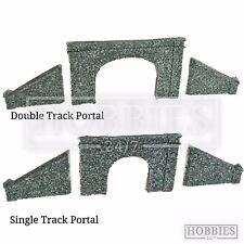 Javis N Gauge Tunnel Portal Double Single Track Side Walls Resin Model Kit N