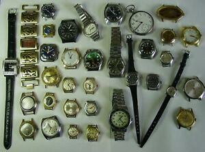 Konvolut Uhren für Bastler. Mechanische,Quartz.  Junghans, Roamer, 1 Taschenuhr.