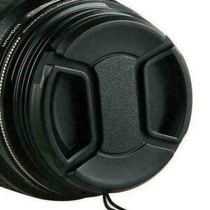 58mm Front Lens Cap  Hood Cover  Snap-on  For  Nikon  Canon  Tokina  Sigma