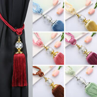 Rope Tassel Holdback Curtain Buckle Curtain Tieback Beaded Ball Window Strap