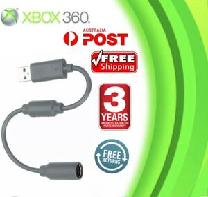 XBOX 360 Breakaway Cable to PC USB Adapter Computer Cord for Wired Controller