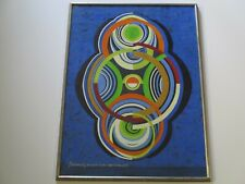 HANS RINK PAINTING 1970'S POP OP ART MODERNISM ABSTRACT NEW YORK COMPOSITION
