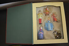 Disney Cinderella Christmas Ornament Set