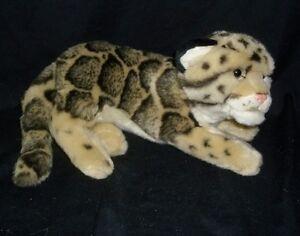 GANZ WEBKINZ SIGNATURE CLOUDED LEOPARD TIGER ENDANGERED STUFFED ANIMAL PLUSH