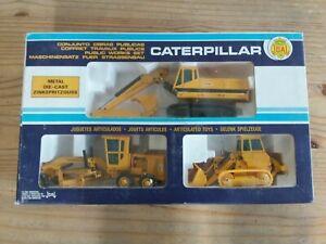 Coffret Joal caterpillar travaux publics (no solido no quiralu no norev no dinky