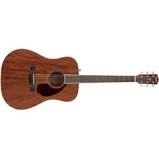 Fender Paramount PM-1 Standard Dreadnought All Mahogany NE A/E Guitar + Case