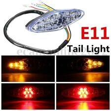 Motorcycle ATV Dirt Bike 15 LED Rear Tail Brake Stop Running Turn Signal Light