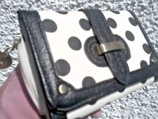 BNWOT Spacious 'ACCESSORIZE' Signed POLKA DOT Clutch Purse / Wallet VGC