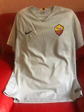 Nike Roma 1927 SIAMO NOI Stadium Away Gray Authentic Jersey Men's Size XL