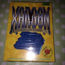 """XARGON 1 Windows PC Version 3 1/2"""" Floppy Disk GAME Mystery of the Blue Builders"""