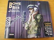 DAVID BOWIE AT BEEB DCD + CD   BOX