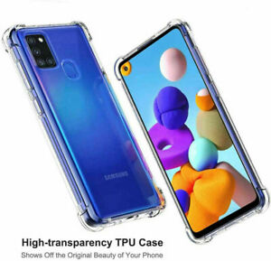NEW 360° TPU Case Shockproof Full Protector Cover For Samsung Galaxy Models