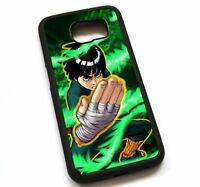 For Samsung Galaxy Note 2 3 4 5 8 Case Cover Naruto Shippuden Rock Lee N6169