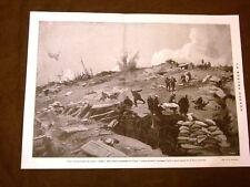 WW1 Grande guerra 1914-1918 Trasporto feriti Carso nel 1917 + Francia Ferrovie