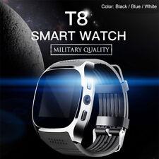 Nouveau 2017 T8 Bluetooth Smart Montre Téléphone Bracelet Montre Pour Android FR