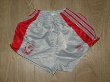 LIVERPOOL 1989-91 AWAY SHORTS ADIDAS SOCCER SIZE 24 BOYS