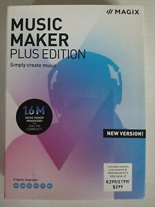 MAGIX Music Maker Plus Edition Create Produce Record Mix Music PRODUCT KEY ONLY