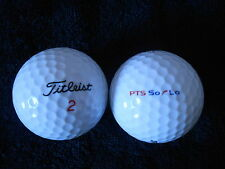 "20 TITLEIST ""PTS SOLO"" Golf Balls - ""PEARL/A""  Grades."