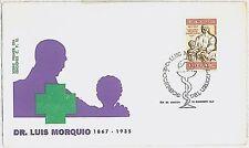 MEDICINE  RED CROSS : URUGUAY -  POSTAL HISTORY-  FDC COVER : 1969
