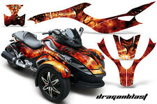 CAN-AM BRP SPYDER GRAPHICS KIT CREATORX DECALS DRAGONBLAST