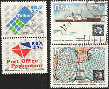 SOUTH AFRICA 1991 ANTARCTIC TREATY AND SAPO 2 COMPLETE USED SETS 1038