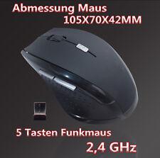 Wireless Optische Funkmaus PC Notebook Computer Maus Kabellos USB Mouse Maus