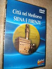DVD CITTA´ NEL MEDIOEVO SIENA E FIRENZE DIGITAL ADVENTURE