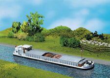 Faller 131006 H0 Flussfrachtschiff mit Wohnkajüte NEU OVP -