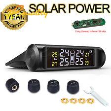 Auto solar wireless tire pressure monitoring system external sensor universal