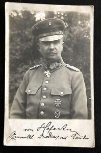 Ak Postkarte - Wk1 - General - Orden