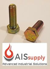 "(50) 5/16""-18 x 1"" (FT) Hex Cap Screws, Grade 8 Yellow-Zinc"