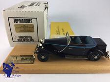 1/43 TOP MARQUES ROLLS ROYCE PHANTOM II BREWTER CROYDON 1932 CH.261AJS N°15/50