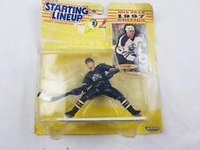 Starting Linup Kenner 1997 NHL Jason Arnott Edmonton Oilers w/ Trading Card New