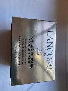 LANCOME LA ROSE A POUDRER STARLIGHT SPARKLE HIGHLIGHTER - IRIDESCENT -NEW IN BOX