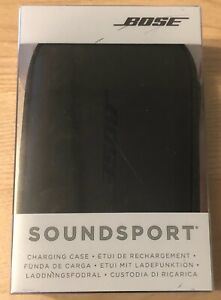 Bose Black Charging Case for SoundSport Wireless Headphones - New Sealed!