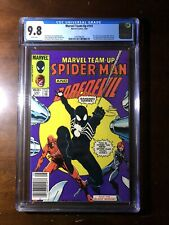 Marvel Team-Up #141(1984)-1st Black Suit! Tied with 252! - CGC 9.8! - Newsstand!