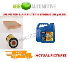 PETROL OIL AIR FILTER KIT + FS PD 5W40 OIL FOR FIAT CROMA 1.8 140 BHP 2005-11