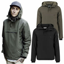 Urban Classics Men's Windbreaker Pullover Jacket Hooded Wind TB1443